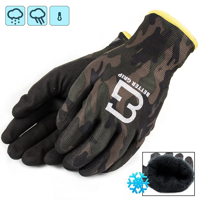 Better Grip® Double Lining Rubber Coated Gloves - BGWANS-MT-CS-Better Grip-RK Safety
