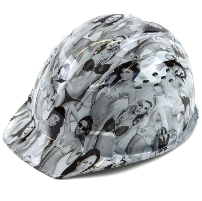 RK Safety RK-HP34-LADIES Ladies Designed Hard Hat Cap Style with 4 Point Ratchet Suspension - RK Safety