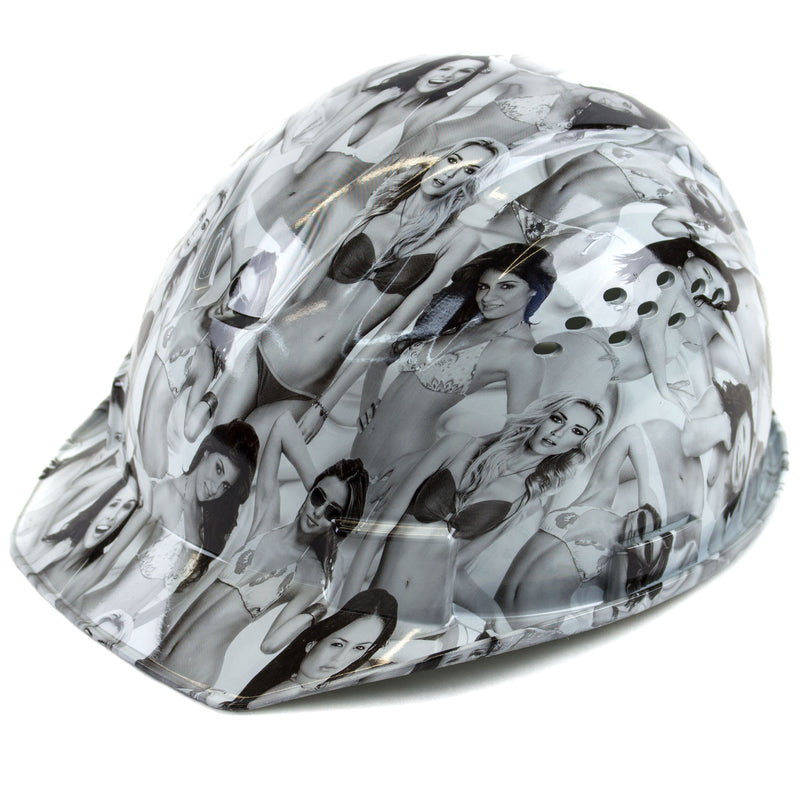 RK Safety RK-HP34-LADIES Ladies Designed Hard Hat Cap Style with 4 Point Ratchet Suspension-RK Safety-RK Safety