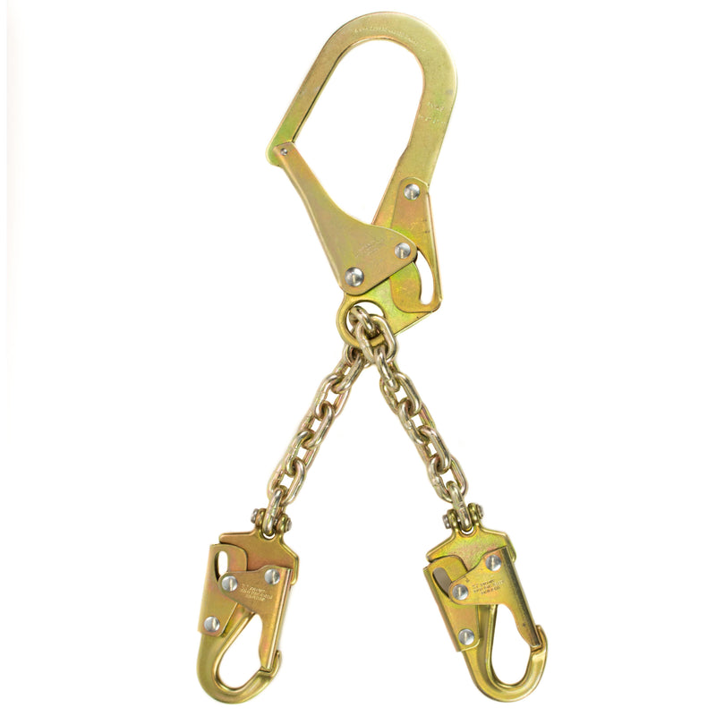 Spidergard SPL-RC01 Rebar Chain Assembly for Positioning with Two Snap Hooks-Spidergard-RK Safety