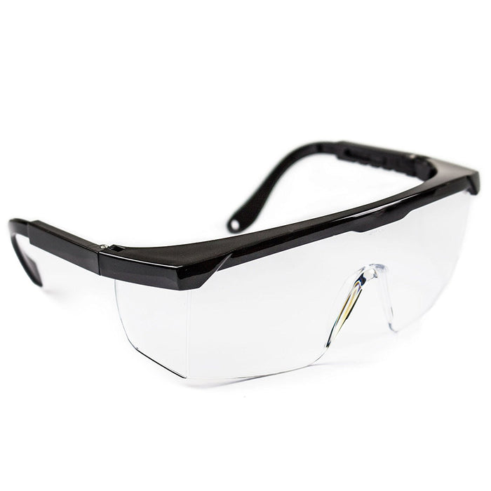 RK-SG201 Economical Safety Eyewear Transparent Crystal Clear Glasses - RK Safety