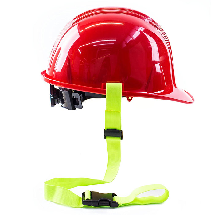 RK Safety Clamp Hard hat Lanyard (Clamp, Lime)-RK Safety-RK Safety