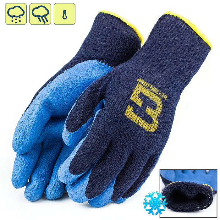 Better Grip® Insulated Rubber Coated Crinkle Gloves - BGWLAC-BU-Better Grip-RK Safety