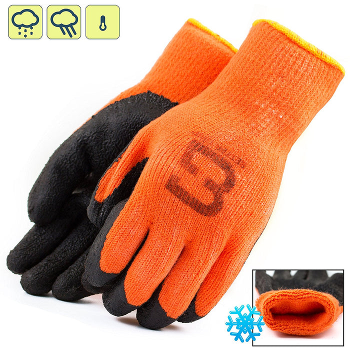 Better Grip® Insulated Rubber Coated Crinkle Gloves - BGWLAC-OR-Better Grip-RK Safety