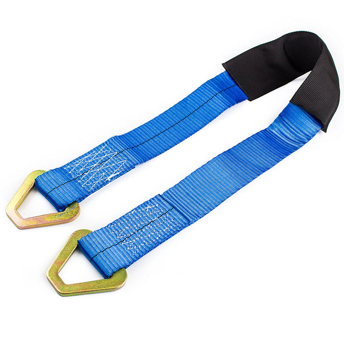 "NK-AS2X36 2"" X 36"" Axle Delta Ring Strap, Tie down, Accessory for Ratchet Strap - RK Safety"
