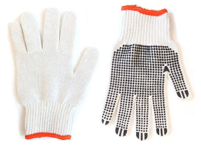 Better Grip BGDOT String Knit Work Gloves with Single-side PVC Dots, Medium-RK Safety-RK Safety