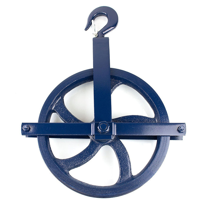 RK-GW12 Heavy-Duty 12 -Inch Diameter Gin Wheel, Gin Block - RK Safety