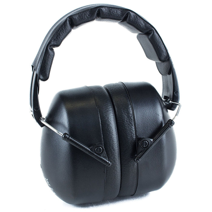 RK Shooting Hearing Protection Folding-Padded Ear Muff - Black2 - RK Safety