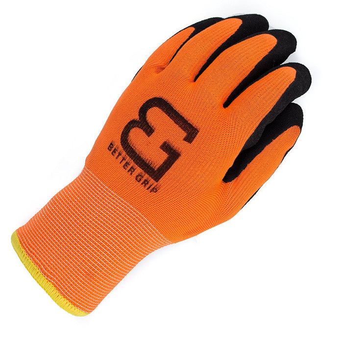 Better Grip® Double Lining Rubber Coated Gloves - BGWANS-OR-CS-Better Grip-RK Safety