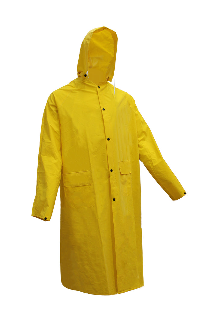 RK Safety RK-RC500 Rainwear Polyester Trench Rain Long Coat-RK Safety-RK Safety