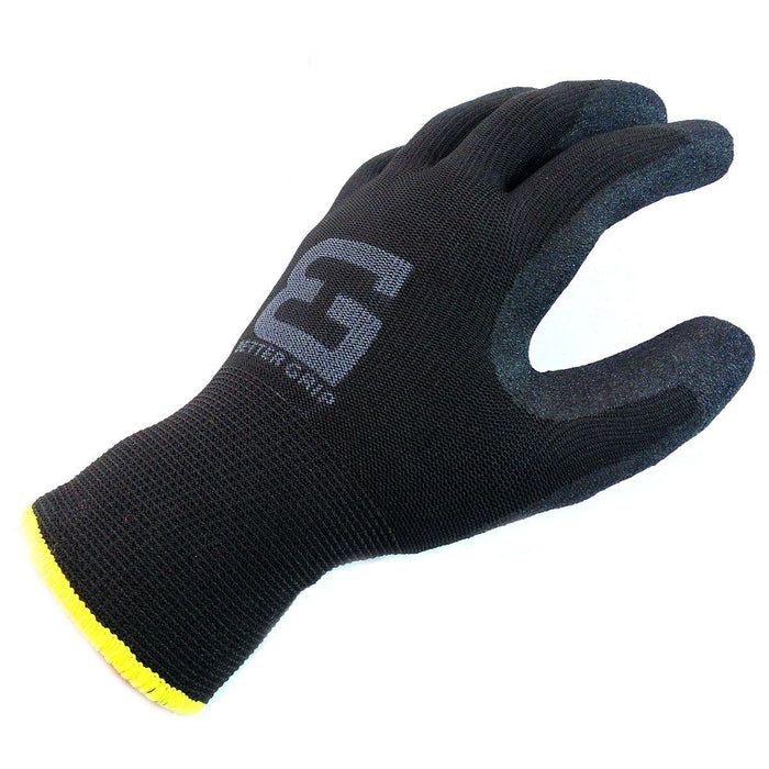 Better Grip® Double Lining Rubber Coated Gloves - BGWANS-BK-CS-Better Grip-RK Safety