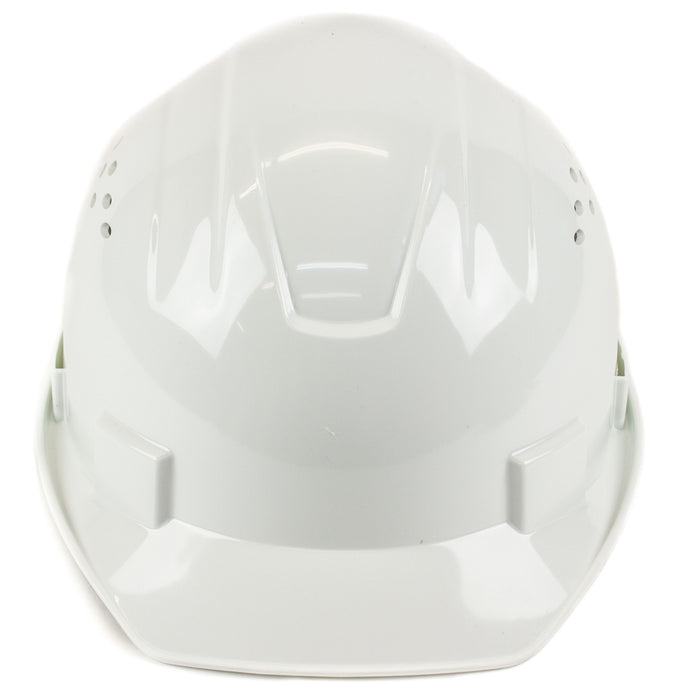 RK Safety RK-HP14-WH Hard Hat Cap Style with 4 Point Ratchet Suspension (White)-RK Safety-RK Safety