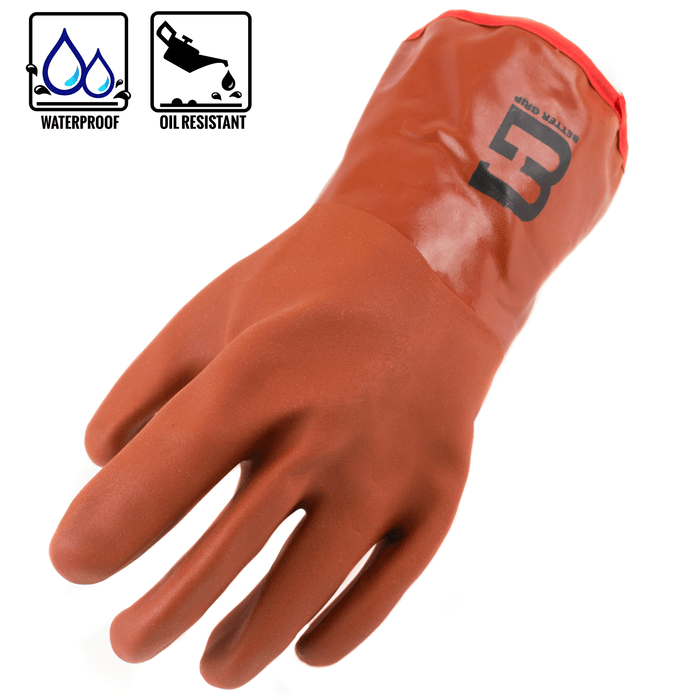 Better Grip® Double Coated PVC Insulated Gloves -BG12WINTEROR-RK Safety-RK Safety