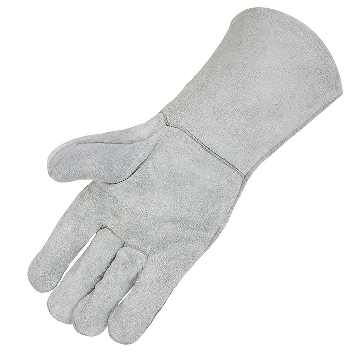 Leather Welding Gloves with Premium Kevlar Stitching - BGBYWELD1 - RK Safety