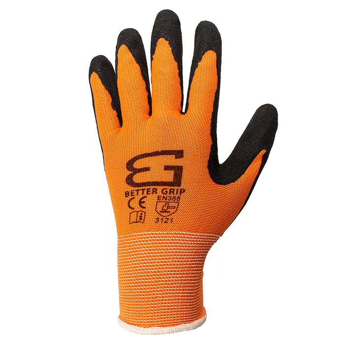 Better Grip® Ultra Thin Sandy Latex Coated Gloves - BGSO1 - RK Safety