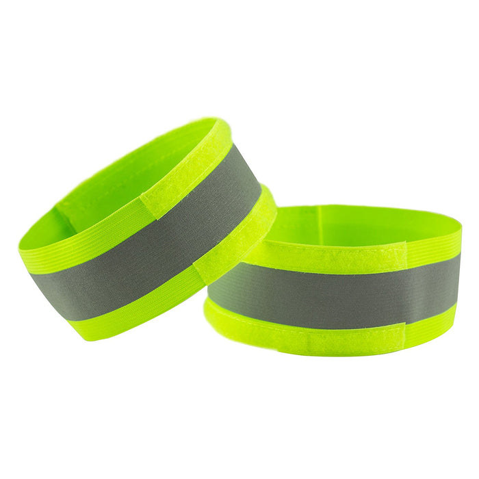 RK Safety Hi Vis Kids Safety Vest + Hi vis Bands- Lime-New York Hi-Viz Workwear-RK Safety