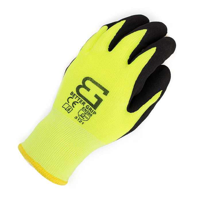 Better Grip® Double Lining Rubber Coated Gloves - BGWANS-LM-Better Grip-RK Safety