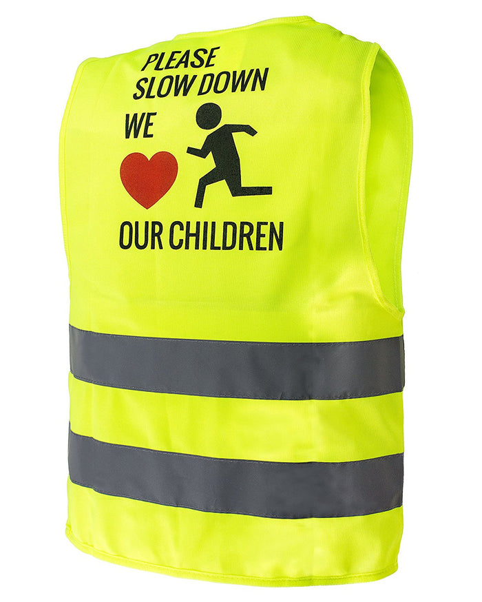 RK Safety Hi Vis Kids Safety Vest - Lime-New York Hi-Viz Workwear-RK Safety