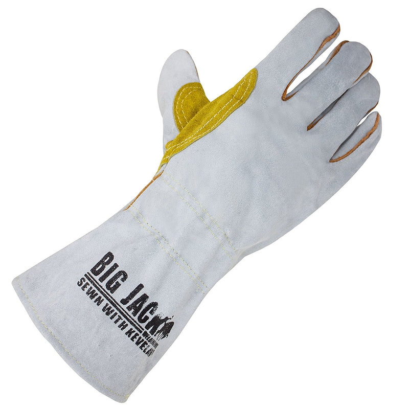 Leather Welding Gloves with Premium Kevlar Stitching - BGBYWELD2-Better Grip-RK Safety