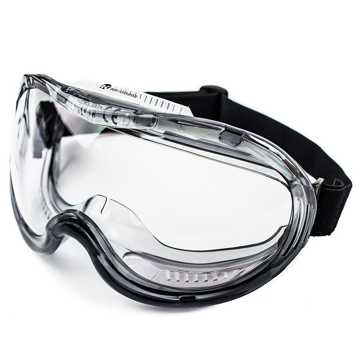 RK-GG201 Industrial Protective Indirect Vent Wide-Vision Goggles - RK Safety