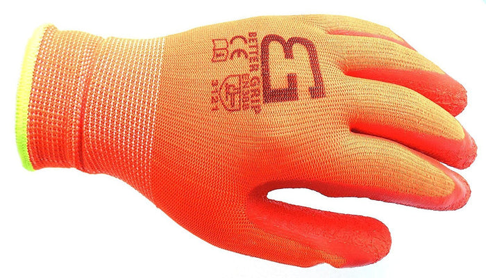 Better Grip® Nylon Gloves Textured Latex Coating Gripping - BGSCLOR-Better Grip-RK Safety