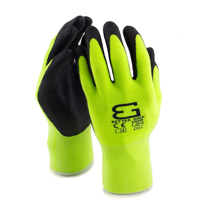 Micro Foam Nitrile Coated Nylon Work Glove - BGFLEXMF-LM-Better Grip-RK Safety