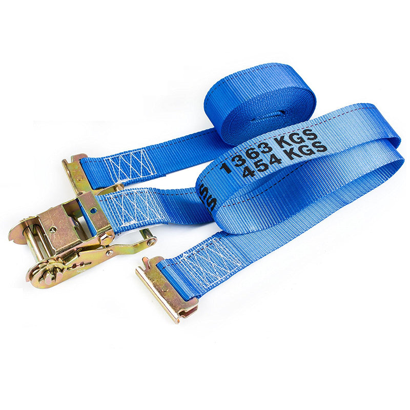 Heavy Duty Blue Ratchet Strap 2 Inch x 20 Foot -NK-RCE2X20-NK-RK Safety