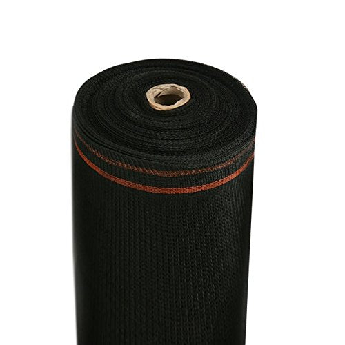 RK Heavy Duty Black Scaffold Debris Netting, Fire retardant 8' x 150'-RK Safety-RK Safety