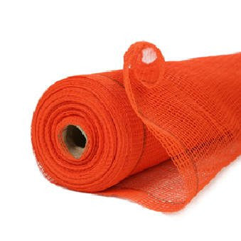 RK 4-ft x 150-ft Fire Retardant Vertical Safety Netting, Orange-RK Safety-RK Safety