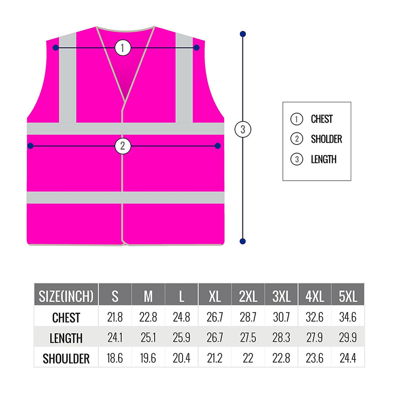 RK Safety PK0430 ANSI/ISEA Class 2 Certified Female Safety Vest-New York Hi-Viz Workwear-RK Safety