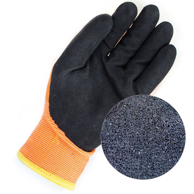 Better Grip® Double Lining Rubber Coated Gloves - BGWANS-OR-Better Grip-RK Safety