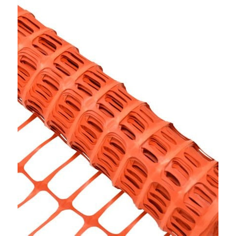 RK Safety RKF-4100 Economy Safety Fence, Orange, 4-Feet by 100-Feet - RK Safety