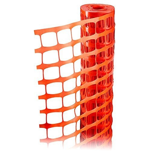 RK Safety RKF-4100 Economy Safety Fence, Orange, 4-Feet by 100-Feet-RK Safety-RK Safety