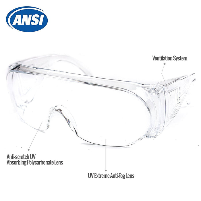 RK-SG101 Industrial Safety Glasses - RK Safety