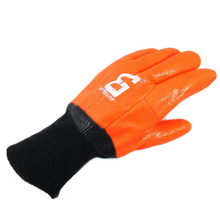 Better Grip® Sandy finished High Vis PVC Coated Gloves - BG105ORGKW - RK Safety