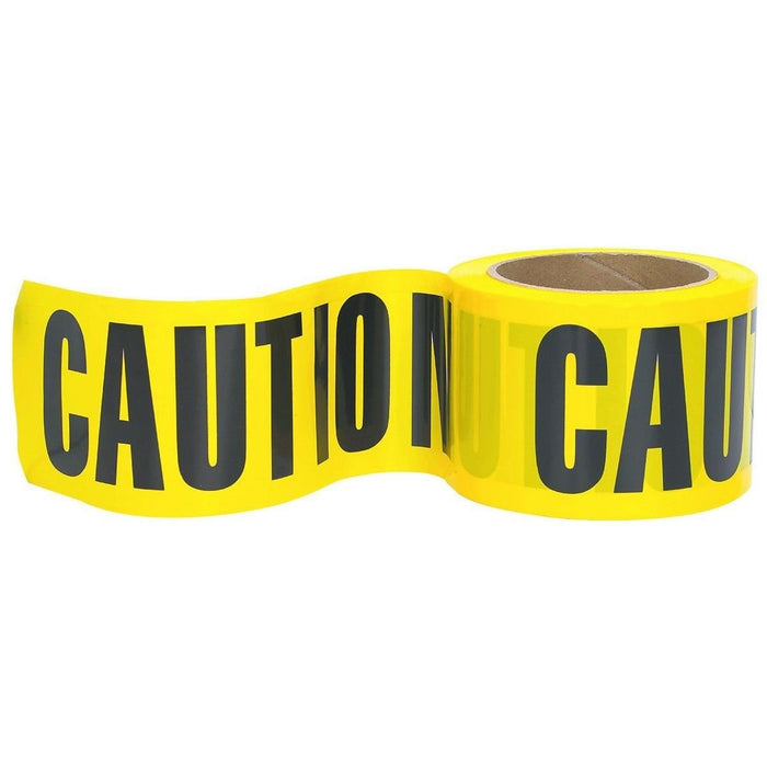 RK High-Visibility 300-Feet by 3-Inch Caution Barricade Tape - RK Safety