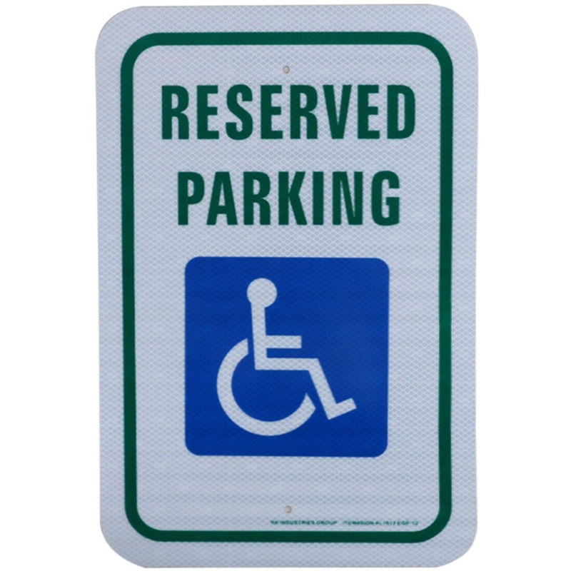 "RK Safety Sign, Legend ""Reserved Parking""-RK Safety-RK Safety"