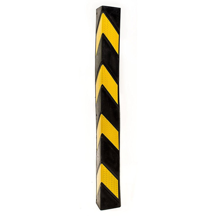 32-Inch Rubber Wall Corner Protectors | Rubber Corner Guard - RK Safety