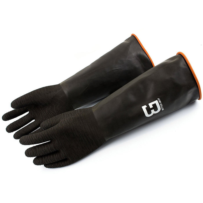 Better Grip® Textured Natural Latex Chemical Resistant Gloves - BG18RU-Better Grip-RK Safety