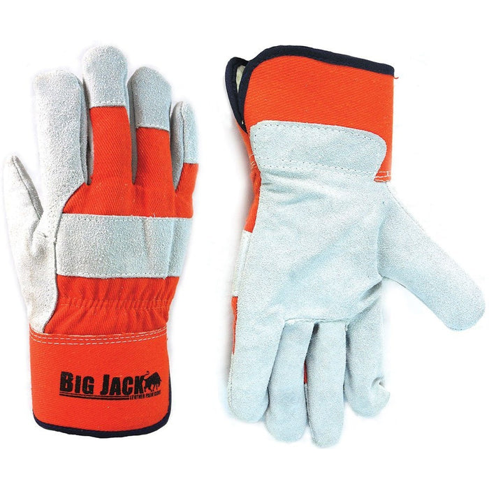 Better Grip® Insulated Split Cowhide Leather Palm Gloves - BGBY4O - RK Safety