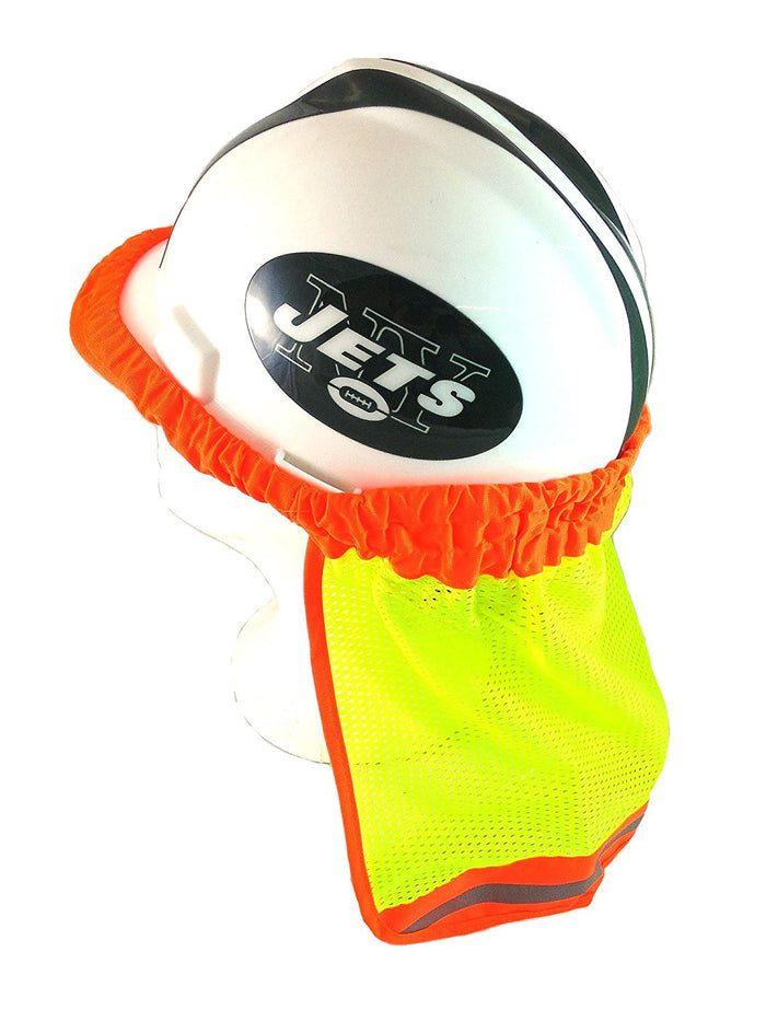 Sun Shade Hi-Viz Yellow/Reflective Stripe Hard Hat Accessory - RK Safety