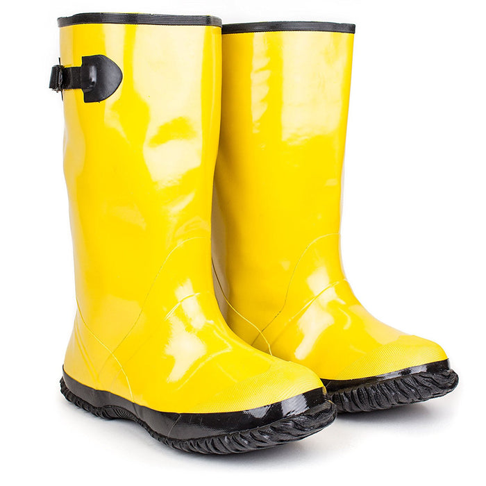 RK Safety Over-The-Shoe Yellow Slush Boots-RK Guard-RK Safety