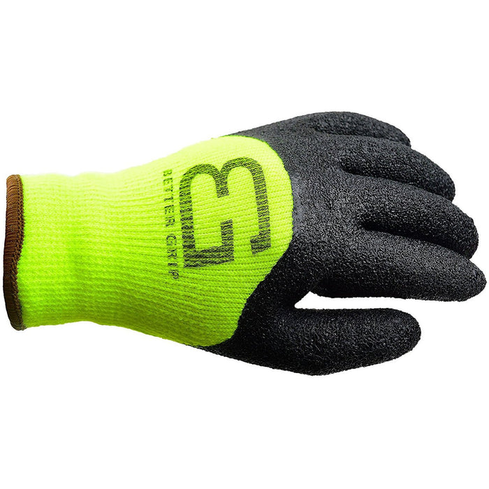 Better Grip® Winter Insulated Crinkle Finished 3/4 Latex Coated Work Gloves - RK Safety