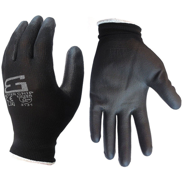 Better Grip® Thin Polyurethane Palm Coated Glove - BGSPUBK-Better Grip-RK Safety