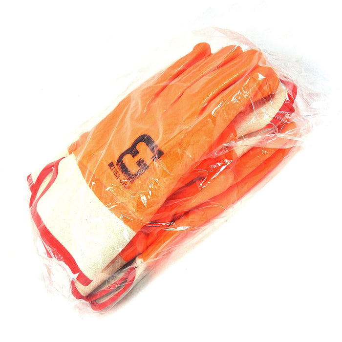 Better Grip® Sandy finished PVC Coated-Supported Glove - BG105ORG - RK Safety