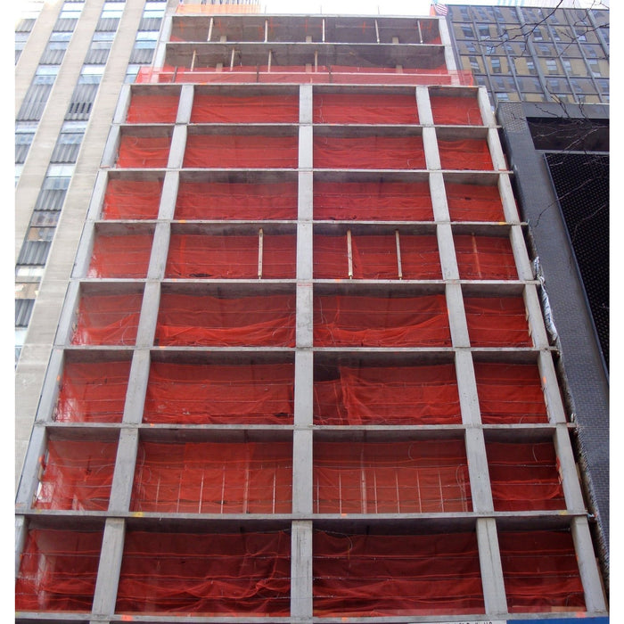 RK 5.6-ft x 150-ft Fire Retardant Vertical Safety Netting, Orange - RK Safety
