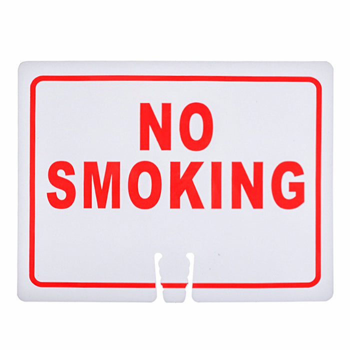 "RK Traffic Cone Sign 19 Legend ""No Smoking"", 18"" Width x 14"" Height, Red on White-RK Safety-RK Safety"