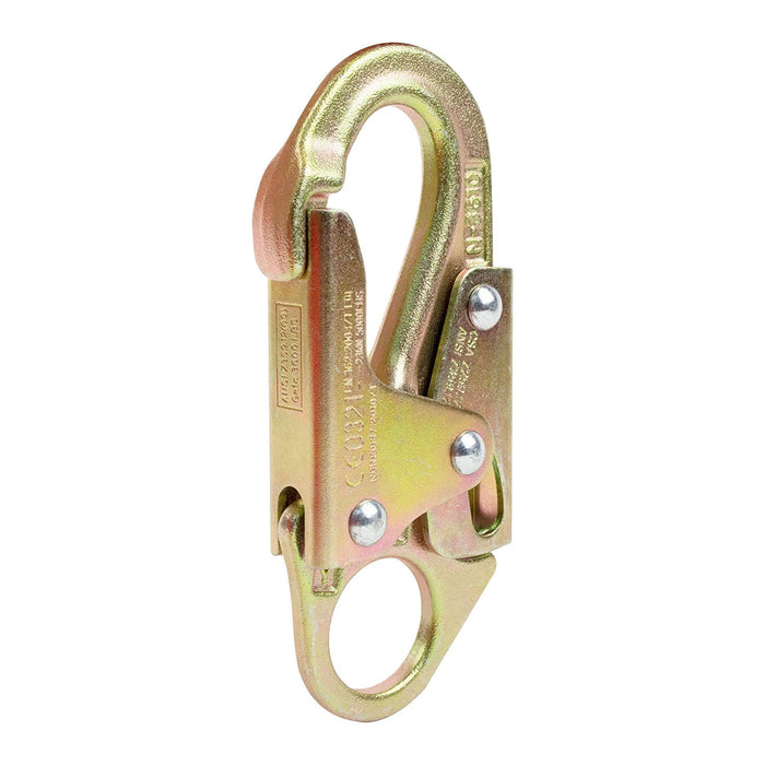 Spidergard Forged Steel Snap Hook, ANSI Certified-Spidergard-RK Safety