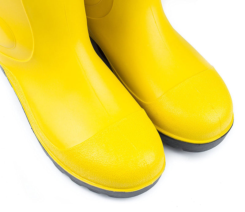 RK Mens Waterproof Rubber Sole Rain Boots - Yellow-RK Guard-RK Safety