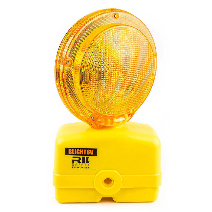 BLIGHT6V-1 Premium 03-10-3WAY6V Polycarbonate Barricade Light-RK Safety-RK Safety